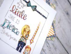 Though She Be But Little Fine Art Print by PenelopeInMyPocket