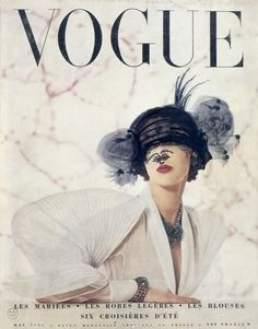 Marcel Duchamp -  Vogue Paris, May 1951.