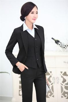 Back To Search Resultswomen's Clothing Honest Formal Ol Styles Dark Blue Blazer Women Business Suits With Pants And Jacket Sets Ladies Work Wear Office Uniform Designs Rich In Poetic And Pictorial Splendor Pant Suits