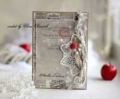 Elena Olinevich: Christmas Cards for Maja Design