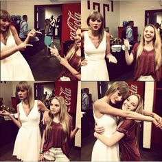 Taylor Swift and Danielle Bradbery