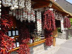 The red paprika , Hungary Worlds Hottest Chilli, Hungary Food, Tabasco Pepper, Sidewalk Cafe, Budapest Travel, Little Paris, Hungarian Embroidery, Heart Of Europe, Hungarian Recipes