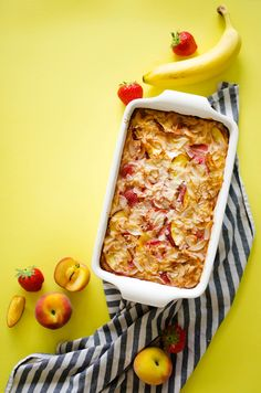 Breakfast bake, Summer fruit and Jord wood watches on Pinterest