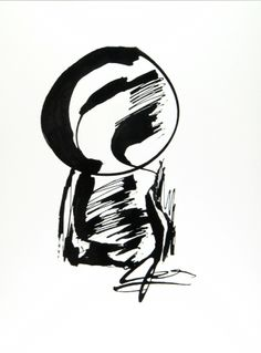 """Morph"" (2010) Black & White - #Ink only on aquarelle paper by Petros Devolis - 24 x 31,9 cm (9.45 x 12.56 in)  #art #blackandwhite #black #white #ink #painting  www.facebook.com/devolisarts www.about.me/devolisarts www.twitter.com/devolisarts"