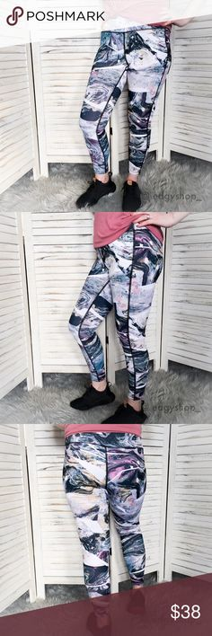 🆕 the marble printed legging • style name: the marble printed legging • color: multi • material: polyester/spandex • 7/8 length athletic leggings in an on trend marble print • high rise thick waistband, super flattering and comfortable • measurements to come, I am modeling a m • condition: brand new from my boutique • price is firm - only bundle discount applies! ____________________________________________________ ✅ price is firm on this item!     ✅ i bundle! ✅ posh compliant closet ⛔️ no…