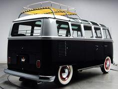 1963-67 Volkswagen T-1 Deluxe Samba Bus van classic socal lowrider custom     f wallpaper background