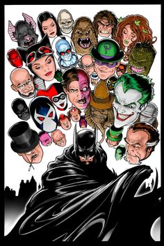 Batman and Co. by Kevin Maguire