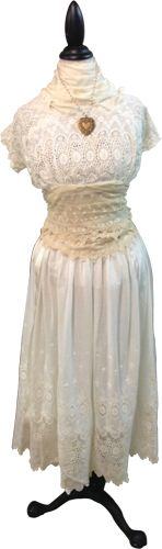Classic Legacy mannequin.  Display vintage lace and clothing to showcase Vintage inspired jewelry!