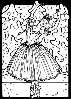 coloring pages slideshow by tharens photobucket - Ballerina Printable Coloring Pages