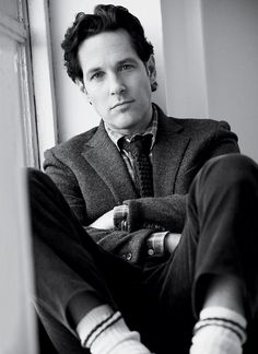 Paul Rudd. He's such a beautiful man.