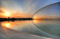 """The Egg"" Breathtaking. Beijing, China"