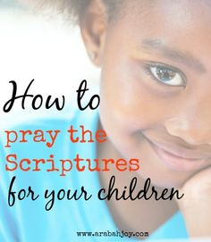 You can begin praying scripture for your family TODAY with these tips and FREE prayer card printables!
