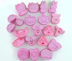 sale 21pcsset 3d cookie cutters cake molds onigiri moulds diy baking tools food grade abs lovely #food #grade #plastic