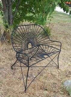 wrought iron antique style settee metal patio furniture