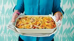 Chicken-Spaghetti Casserole (80s) - 50 Years of Southern Recipes - Southern Living - Casseroles are where you can see Southern ingenuity at its best, and the eighties had no shortage of inventive ideas. This particular Southern standard gave us all the warm and fuzzy memories we were craving. Recipe: Chicken-Spaghetti Casserole