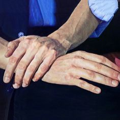 Oil On Canvas By Kartanflat Antoni Conejo Oil On Canvas, Holding Hands, Rabbits, Hands, Paintings