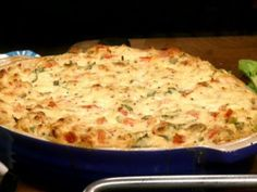 Bobby and Paula make a hot dip of lump crabmeat, tomatoes and pepper Jack.