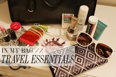 Whats In My Bag.