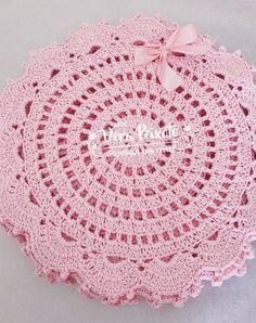 Sousplat de crochê - modelo lovely