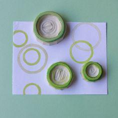 Dizzy Up Circle Pattern Stamp Set