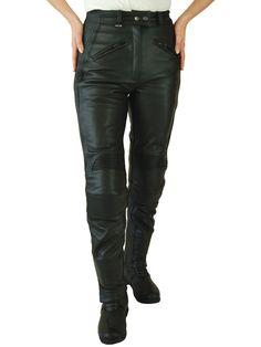 JTS 733 Ladies Leather Motorcycle Trousers - LadyBiker.co.uk