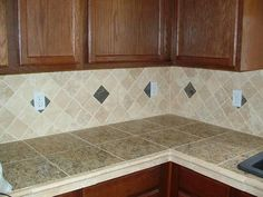 Find This Pin And More On Countertops Fascinasting Granite Tile Kitchen