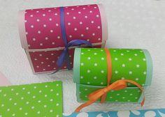 101 fiestas: Diy Cajita baúl de regalo