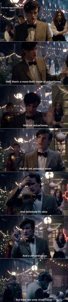 Amy, Rory, and the Doctor