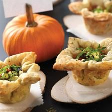 Mini Rustic Garden Pies - Wonderful with a fresh garden salad.