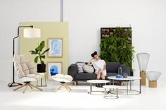 One of our new interior trends 2012/13: Go Green! Created with and published in magazine Eigen Huis & Interieur.