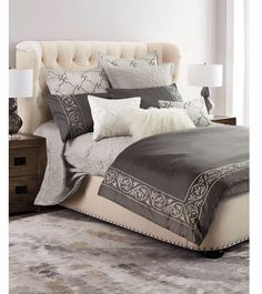 100% cotton 4pcs Bedding Set, Grey Embroidered Bedding, European style Duvet Cover Set, Comforter Cover For Queen King Size-in Bedding Sets from Home & Garden on Aliexpress.com | Alibaba Group