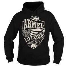 Last Name, Surname Tshirts - Team ARMEL Lifetime Member Eagle