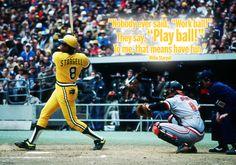 Play Ball! Willie Stargell, Pittsburgh Pirates #HallOfFame #MLB