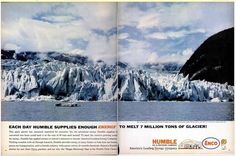 How to Melt Glaciers and Influence People - An ad from the 1960s, still relevant now.