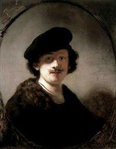 Autoritratto con gli occhi in ombra. Olio su tavola. 71.1x56. 1634. The Leiden Collection. New York