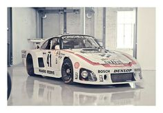 The 1979 Le Mans-winning Kremer-Porsche 935K3. We have a gorgeous 1:18-scale version of this iconic Porsche on sale now at carriagehousemodels.com.