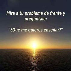 Mira a tu problema de frente Secret Quotes, Secret Law Of Attraction, Something To Remember, Spiritual Messages, Motivational Phrases, Life Philosophy, Mindset Quotes, Feelings And Emotions, All Quotes