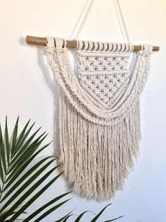Sophie Macrame Wall Hanging Natural Cotton Rope