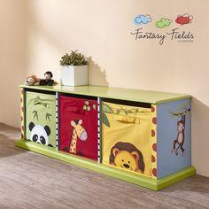 Fantasy Fields - Sunny Safari 3 Drawer Cubby