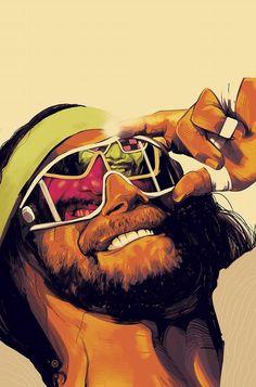 Comic/Cartoon themed wallpapers for desktop and mobile Savage Wallpapers, Wwe Wallpapers, Wrestling Posters, Wrestling Wwe, Wrestling Superstars, Wwe Tna, Hulk Hogan, Wwe Wrestlers, Professional Wrestling