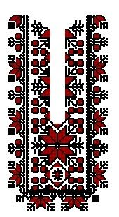 Bordado para blusas de winibi Embroidery On Kurtis, Folk Embroidery, Embroidery Patterns Free, Cross Stitch Embroidery, Embroidery Designs, Beading Patterns Free, Cross Stitch Charts, Cross Stitch Designs, Cross Stitch Patterns