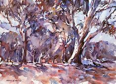 How to paint watercolor
