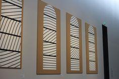 Musée Soulages - Préparation des vitraux de Conques