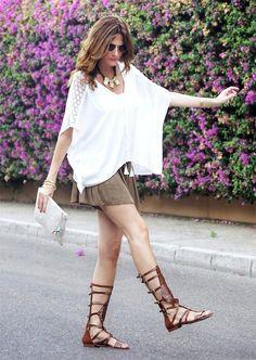 Sandalias romanas #gladiadoras #sandals #romanas