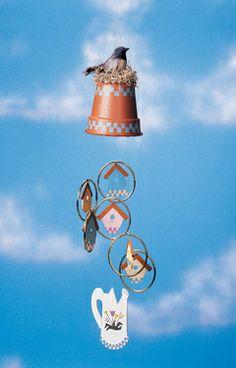 Flowerpot to Wind Chimes
