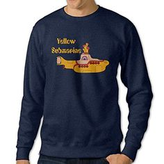 101Dog Yellow Marine Mens Pullover Sweatshirt XXX-Large Navy -- Check this awesome product by going to the link at the image.