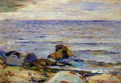 """Edvard Munch """"Paesaggio marino"""""""