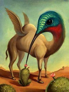 Surrealism and Visionary art: Chris Buzelli