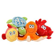 Ocean Friends Dog Toys www.thepetboutique.com