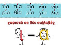 Κάθε μέρα... πρώτη! Greek Language, How To Stay Motivated, Speech Therapy, Grammar, Periodic Table, Crafts For Kids, Motivation, Education, Learning